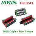 10 יח'\חבילה המקורי Hiwin HGH25CA ליניארי מדריך צר בלוק מסבים מרכבת 25mm עבור ליניארי רכבת HGR25 CNC חלקי 3D מדפסת-במסבים מתוך ספורט ובידור באתר