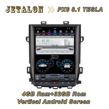 """For TOYOTA ALPHARD 2010 2011-2014 12.1"""" 1280*800 High resolution 4GB ram 32GB rom Navigation Smart Car Android Vertical Screen"""