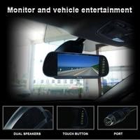 Car Backup View Camera Brake Light IR Rear View Reversing Camera 7 Inch Rearview Display Monitor Kit for Mercedes Sprinter