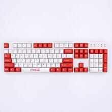 MP сублимированный краситель Coca Cola keycap 87/108 клавиш толстые PBT keycaps MX Переключатель вишня/ноппо/Флик механическая клавиатура Keycap