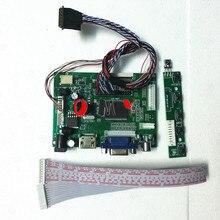 Комплект работать в течение LP156WH4-TLP2 1366x768 контроллер плата драйверная 2AV дистанционного ЖК-дисплей Экран панель дисплей светодиодный совмес...