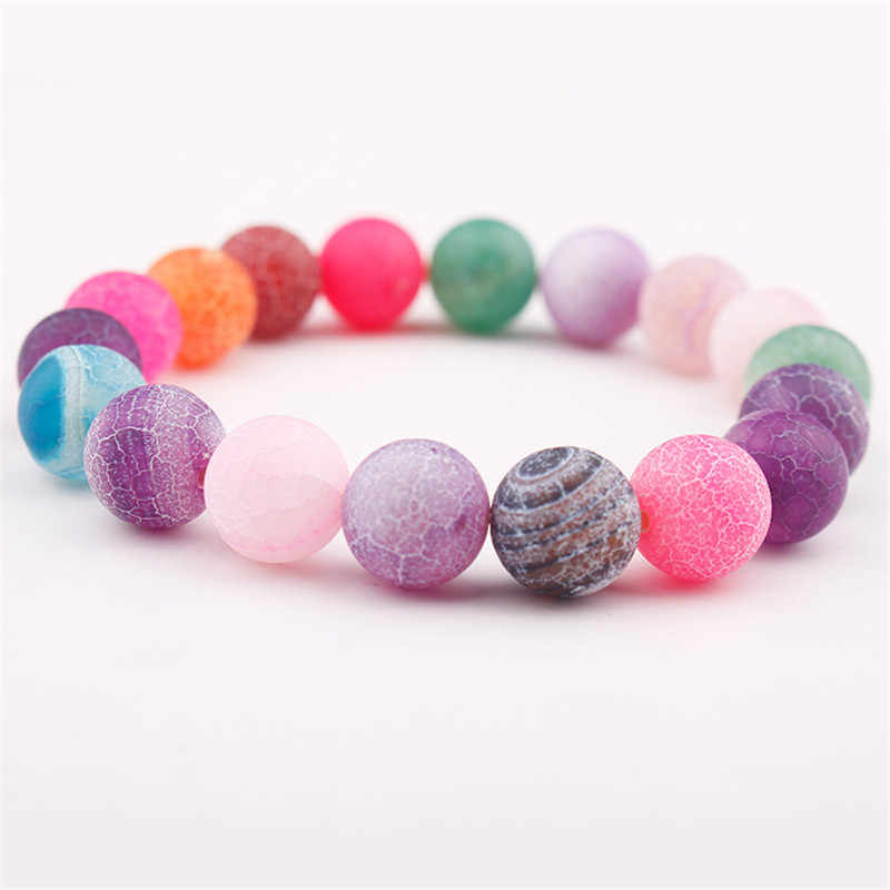 GVUSMIL Hot Bracelets Fashion Colorful Natural Stone Beads Chakra Bracelet Jewelry High Quality Drop Shipping