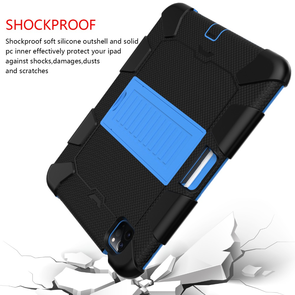 Air Shockproof 4 Rugged Case inch Duty 10.9 PC iPad Tablet for Hybird Kids Heavy 2020