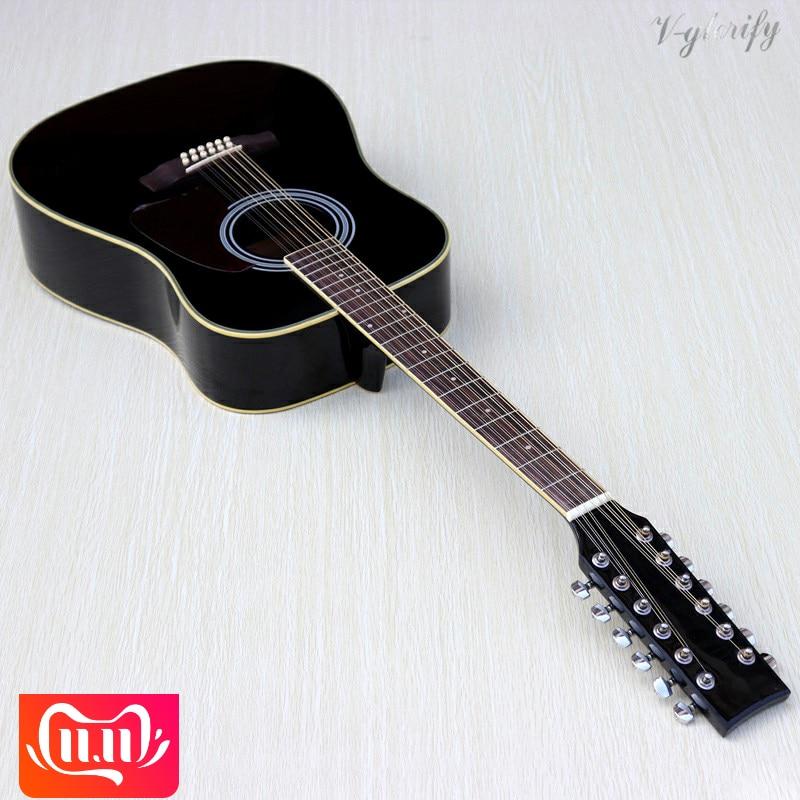 Hohe qualität 12 string akustische elektrische gitarre-in Gitarre aus Sport und Unterhaltung bei AliExpress - 11.11_Doppel-11Tag der Singles 1