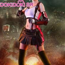 PRE-SALE dokidoki-sr final fantasy vii tifa lockhart cosplay traje feminino final fantasia vii tifa traje