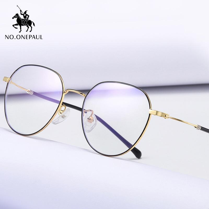 NO.ONEPAUL Light Lens Computer Glasses Spectacles Frame Blue Light Blocking Glasses Super Light Frame Eyeglasses Anti Blue