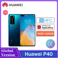 Huawei Smartphone P40 Android10 Supercharge Kirin 990 8Gb 128Gb 50MP Camera Nfc Snelle Schip Telefono الهاتف الخلو هاتف عالي التقني