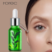 ROREC Moisturizing Face Serum Facial Essence Whitening for Face Repair Skin Care Anti Wrinkle Anti-aging Green Tea Seed Extract bioaqua blueberry wonder essence for face skin care effect plant extract anti wrinkle facial serum sodium hyaluronate serum