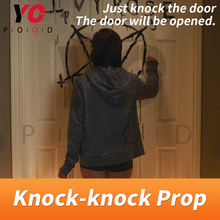 Knock Prop Escape Room Game 1987 Knock the door to escape the mysterious room Takagism game adventures get puzzle clues YOPOOD room escape props tool running game trigger magnetic locks users can be modify run time open the games organs tools
