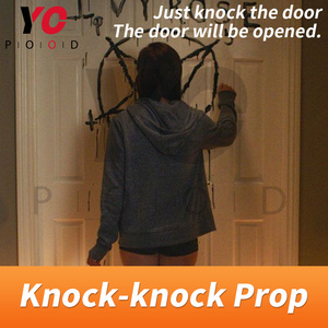 Knock Prop Escape Room Game 1987 Knock the door to escape the mysterious room Takagism game adventures get puzzle clues YOPOOD(China)