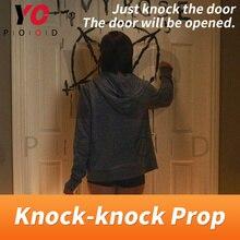 Knock Prop Escape Room Game 1987 zapukaj do drzwi, aby uciec tajemniczy pokój gra Takagism przygody zdobądź wskazówki logiczne YOPOOD