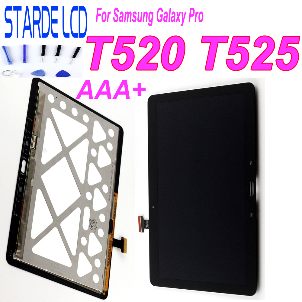 STARDE Replacement LCD For <font><b>Samsung</b></font> <font><b>Galaxy</b></font> <font><b>Tab</b></font> <font><b>Pro</b></font> T520 <font><b>SM</b></font>-T520 <font><b>T525</b></font> <font><b>SM</b></font>-<font><b>T525</b></font> LCD Display Touch Screen Digitizer Assembly image