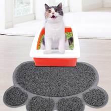 Коврики для ловли кошек 30*40 см ПВХ эластичные волоконные коврики для кошек коробки для мусора LKS99