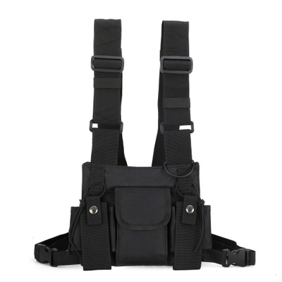 2019 Fanny Pack Fashion Men's And Women's Functional And Tactical Chest Bags Eat Chicken Bags And Vest Bags