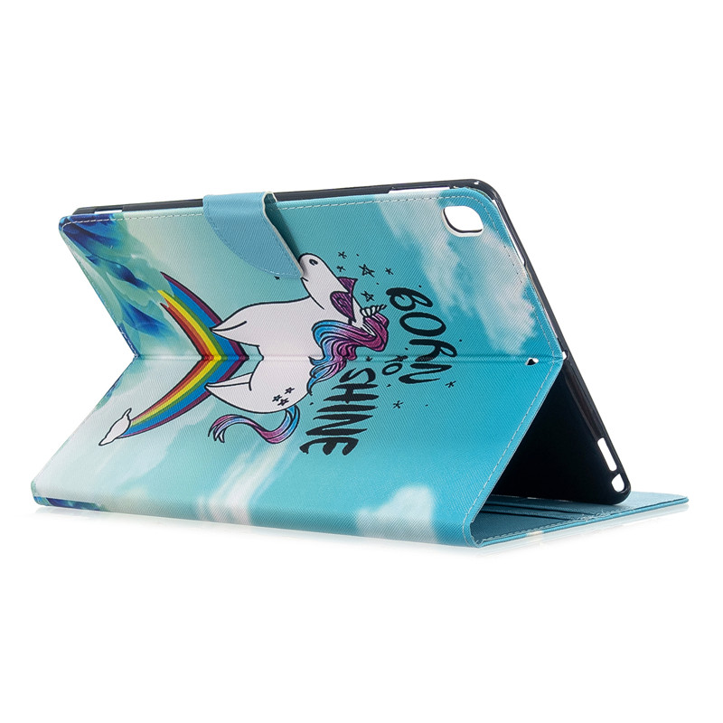 for 2017 Cover Case Pro For 3 5 Cat iPad 2019 10 Tablet Cute Apple Unicorn Magnetic Air
