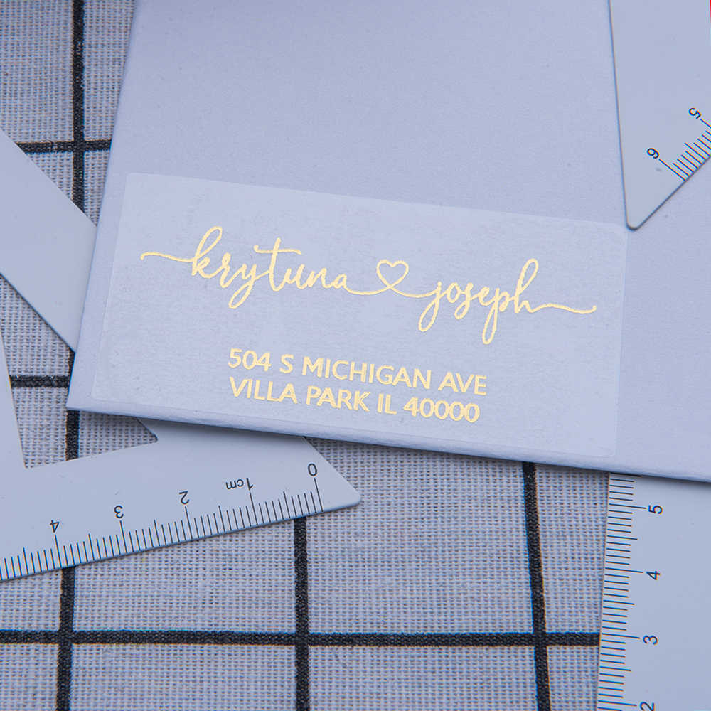 Personalized State of Michigan Address Labels 60 Customized Michigan Return Address Labels