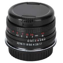 50 millimetri F1.7 Full Frame Grande Apertura Ritratto Manuale Lente di Messa A Fuoco per Nikon F Mount Macchina Fotografica REFLEX