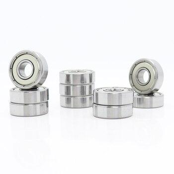 цена на 608ZZ Bearing ABEC-7 ( 10 PCS ) 8x22x7mm Miniature Ball Bearings 608Z EMQ GRADE 608ZZ-Bearing