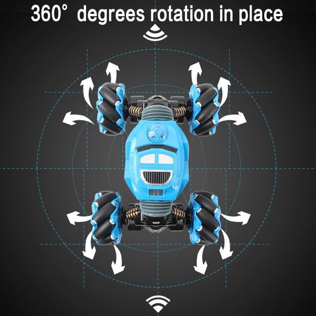 Off-Road Vehicle Light Music Drift Toy High Speed Climbing RC Car