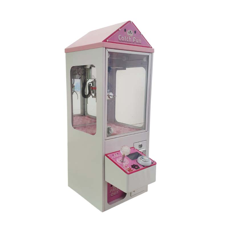 newest catch fun candy catcher machine bartop Mini Arcade Claw Crane Machine  with coin operated For Sale 2 year warranty