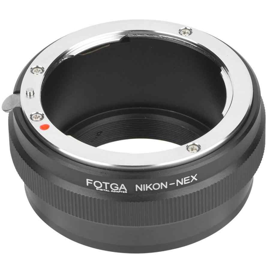 เลนส์อะแดปเตอร์เลนส์อะแดปเตอร์เลนส์ FOTGA สำหรับเลนส์ Nikon AI สำหรับกล้อง Sony NEX เลนส์ผู้ถือ AI-NEX กล้องอะแดปเตอร์อะแดปเตอร์แหวน