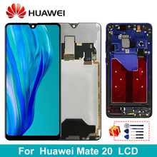 6.53'' Original For Huawei Mate 20 LCD Touch Screen Display Digitizer Assembly Parts With Frame For Huawei Mate 20 LCD