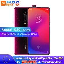 """Xiaomi Redmi K20 с глобальной ПЗУ, 6 ГБ, 128 ГБ, мобильный телефон, Snapdragon 730, 48мп, задняя камера, всплывающая, фронтальная камера, 4000 мАч, 6,39 """"AMOLED"""