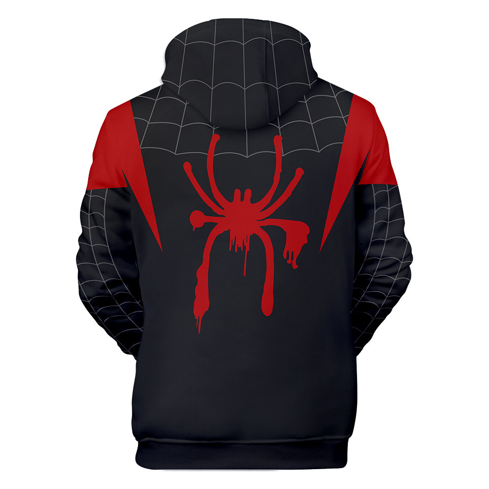 Spider Man Hoodies Costume Fashion 3d Men's Hooded Autumn Male Casual Hoody Sweatshirts Boy Color Jacket Top 4xl Hip Hop Clothes