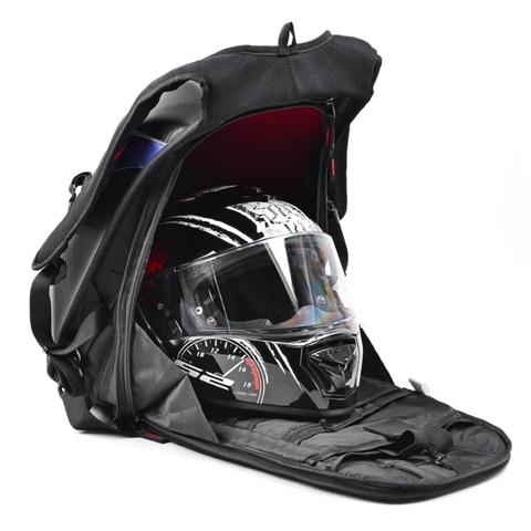 equitacao capacete saco moto mochila