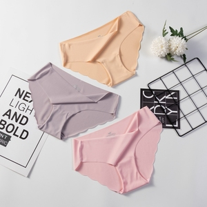 Hot Sale Fashion Women Seamless Panties Ultra-thin Underwear Comfort Intimates Sexy Lingerie Low-Rise Female briefs(China)