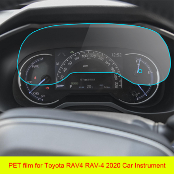 PET Film screen Protector For Toyota RAV4 RAV-4 2020 Car Instrument Panel Protector Dashboard Center Control Touchscreen image
