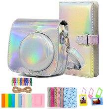Совместимый Чехол для камеры Fujifilm InstaxMini 9, комплект с альбомом, рамкой и другими аксессуарами для Fujifilm Instax Mini 9 8 8 +