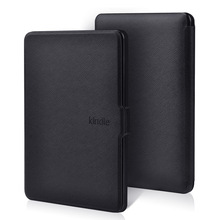 Slim Smart PU Leather Case for Kindle Paperwhite 1 2 3 2013 2015 6.0 inch Magnetic PU leather Cover for Kindle 958 case сумка hstyle kd2206 2013 pu