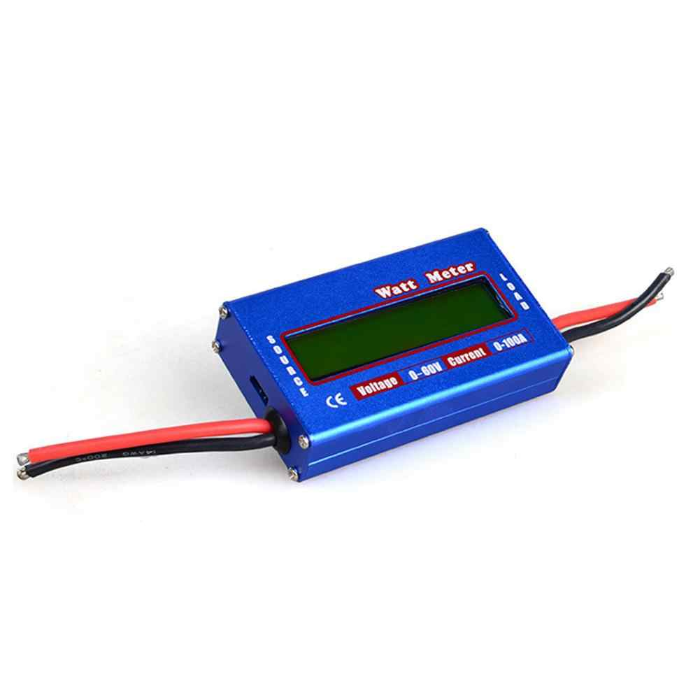 Blue DC 60V 100A Balance Voltage Battery Power Analyzer RC Watt Meter Checker Professional Watt Meter Balancer Charger RC Tools