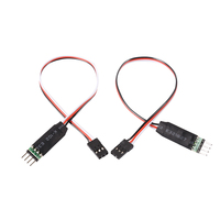 2 pezzi RC modello di auto 3CH LED interruttore della luce pannello della lampada del telecomando per 1/10 1/8 RC Model Car HSP Traxxas TAMIYA CC01 4WD Axial SCX