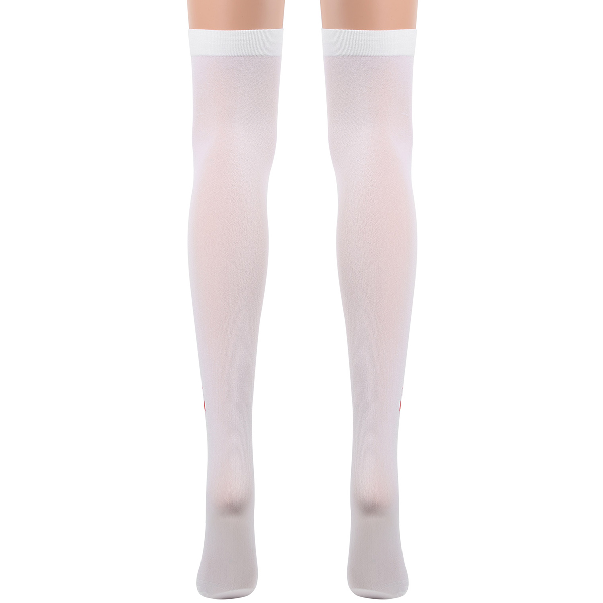 Fancy Party Halloween Bloody Blood Stain Hosiery Suit Thigh High Stockings