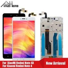PINZHENG AAAA טלפון מסך LCD עבור Xiaomi Redmi הערה 4 4X תצוגה עבור Snapdragon 625 MTK Helio X20 החלפת LCD תצוגה
