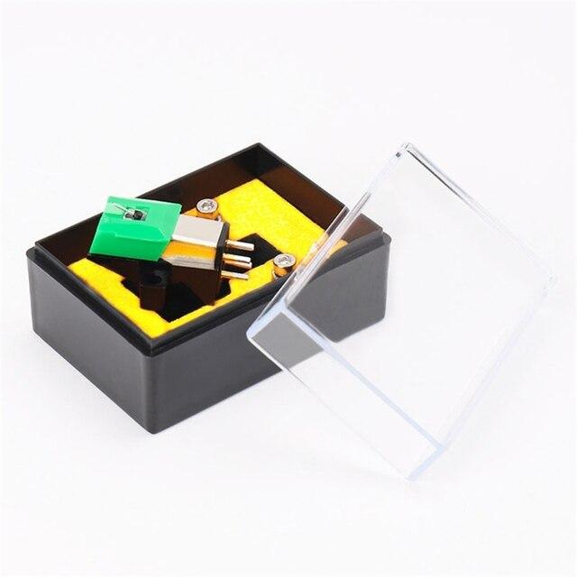 מגנטי מחסנית Stylus vinilo פטיפון מחטי AT95E ויניל שיא נגן Stylus 3 מהירות 13mm המגרש שיא מחסניות E65C