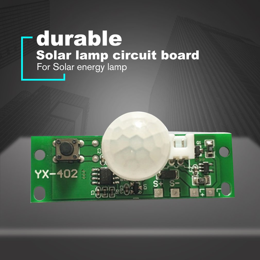 Hot Sale #4222 3.7V Infrared Solar Lamp Panel Circuit