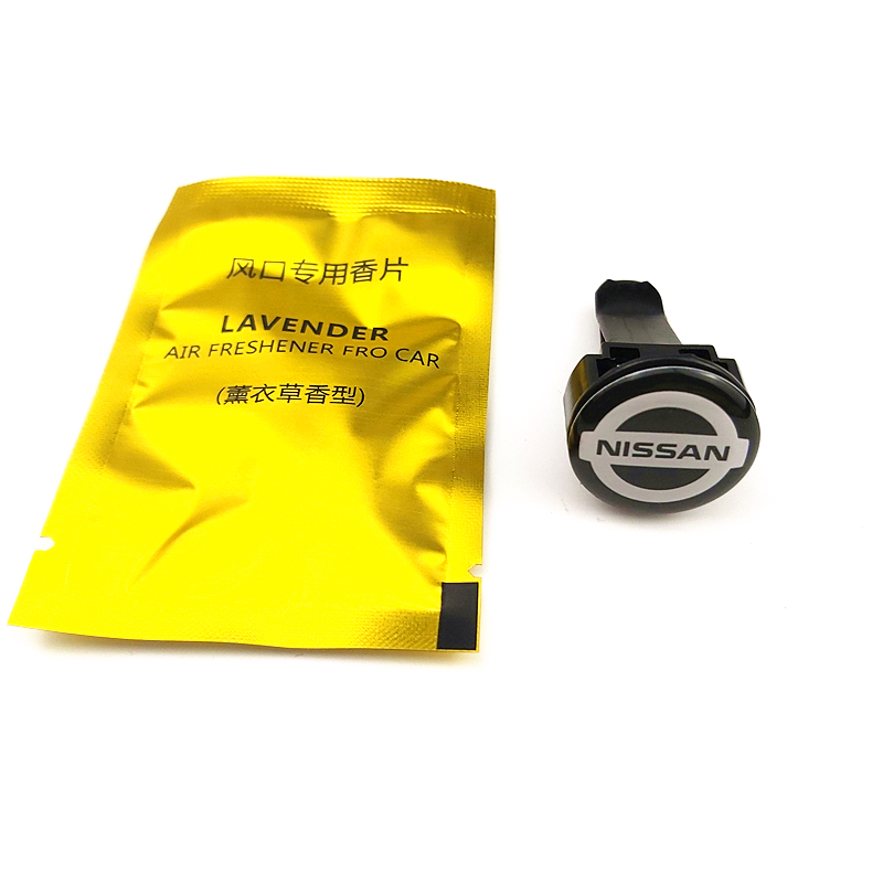 Car-Styling Car Air Freshener Emblems Case For Nissan Nismo X-trail Almera Qashqai Tiida Teana Skyline Juke Accessories