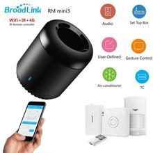 Broadlink rm4c mini bestcon ir + 4g + wifi, controle remoto de voz, compatível com alexa, google home, rm mini3, 4g wifi ir fixcon controlador