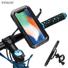 دراجة نارية دراجة حامل هاتف المحمول دعم الدراجة حامل آيفون 11 برو مقاوم للماء آيفون 11 برو ماكس SE 2020 XS XR