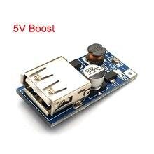 Dc dc 0.9v-5v a 5v carregador de banco de potência 600ma step up conversor de impulso módulo de tensão de alimentação saída usb circuito de carregamento
