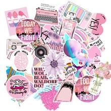 50PCS VSCO Stickers Waterproof Cartoon Cool pinkTeenage girl For DIY  guita refrigerator Skateboard Laotop Suitcase Ca
