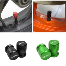 Tire-Valve-Stem-Caps Motorcycle-Accessories Ninja zx-25r ZX25R Kawasaki Wheel for Airtight-Covers