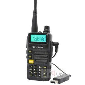 Image 5 - USB del Caricatore Della Batteria Versione Quansheng UV R50 2 Walkie Talkie Vhf Uhf Dual Band Radio UV R50 1 UV R50 Serie Uv 5r tg uv2 UVR50