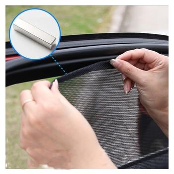 Car Side Window Sunshades Magnetic Sun Shade Protection Sunshade Mesh