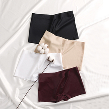 Shorts Seamless Boxers Pants Underwear Nylon Slimming Anti-Emptied High-Waist Women Safety