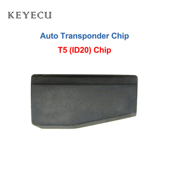 Keyecu Blank T5 ID20 Chip Carbon Auto Transponder Immbolizer Chip for Acura Buick Cadillac Chevrolet Honda Pontiac Oldsmobile image
