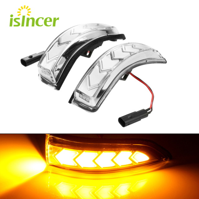 LED Dynamic Turn Signal For Toyota Camry Corolla Rear Mirror Indicator Light for Prius C Venza Avalon Vios Yaris Altis Scion iM
